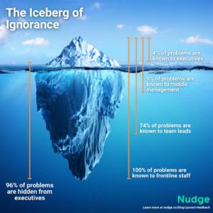 Iceberg of ignorance | Nudge