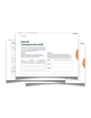 Internal communications audit worksheet