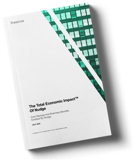 Forrester_TEI Report book cover | Nudge