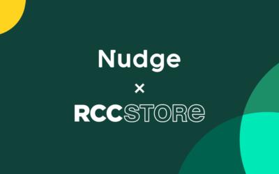 Nudge is at RCC Store this week!