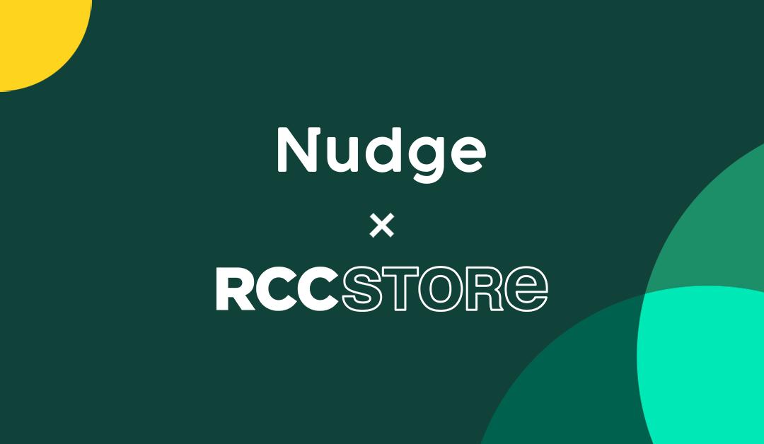 Nudge at RCC Store